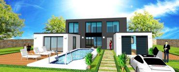 Maison en U Sur Mesure Votre constructeur design moderne en idf pour vos plans, modele, permis de construire et construction