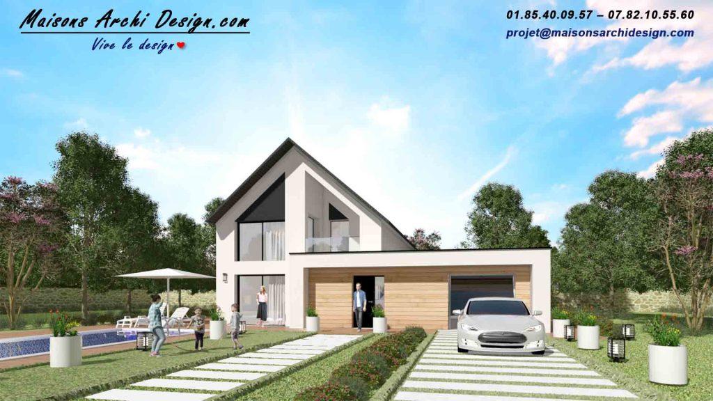 Prestance 3TT par Archidesign Constructeur Designer de votre Maison de rêve Sur Mesureen Essonne 91