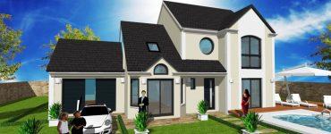 Pour votre maison, tous les effets d'enduit par votre constructeur designer Modenature, Bandeau, Soubassement, Chainage d angle, Cle de voute, Rainuré, Rainurage, Trait
