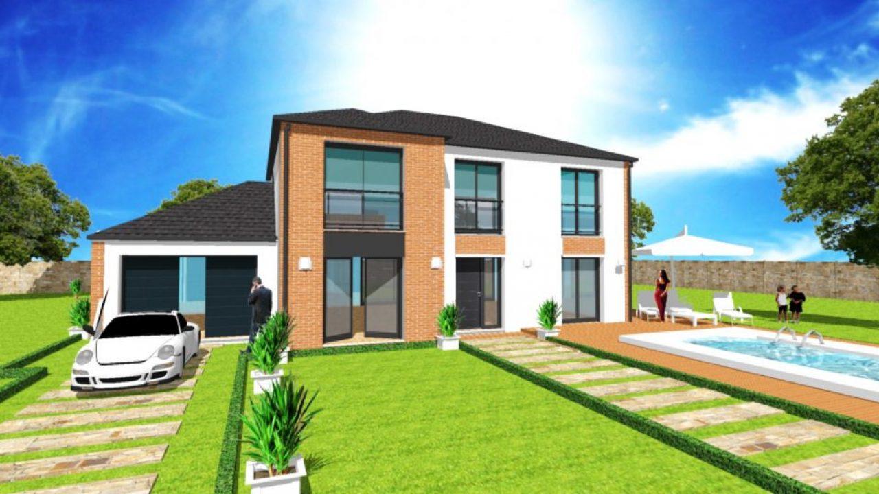 Maison En L Plan Modele Constructeur Sur Mesure