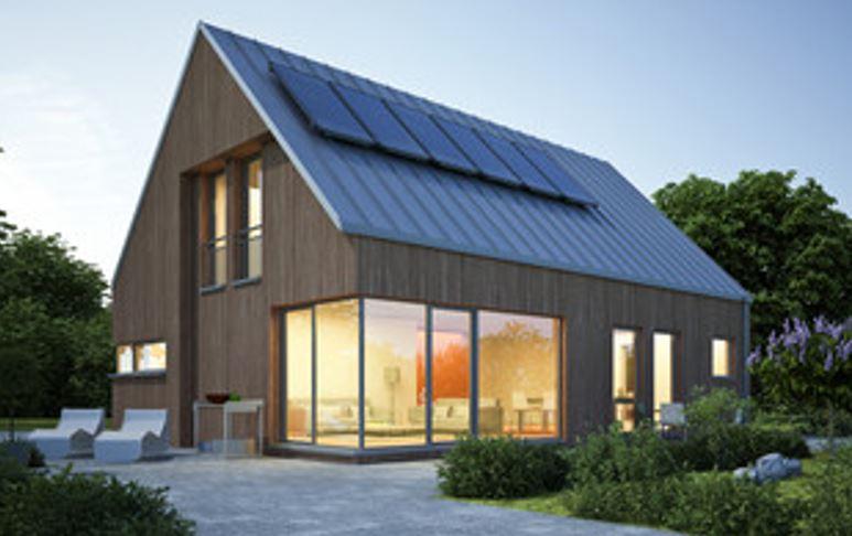 Tout pour faire construire votre maison à toit ou bardage zinc moderne contemporaine en ile de france plan, devis, prix, permis et construction en CCMI 2 pans 4 pans ou mansard