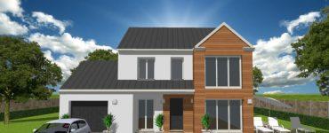 Maison ArchiDesign Eden 3 façade bois
