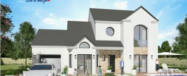 Noblesse 2 maison plan modele moderne design style ile de france
