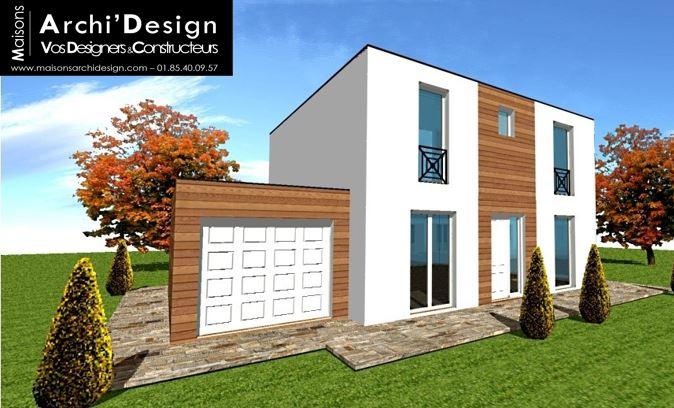 Maison Joa TT Wood Archidesign