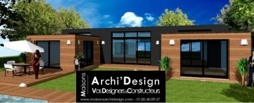 Maison Patio Neo Black & Wood Archidesign