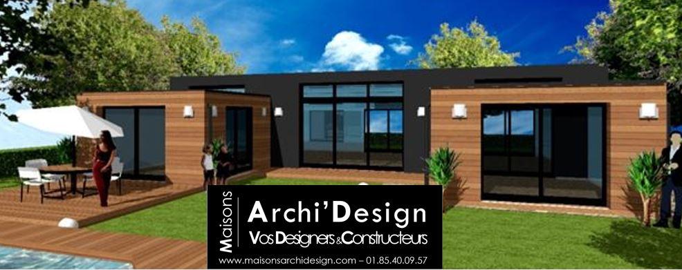 Maison Patio Neo Black & Wood Archidesign