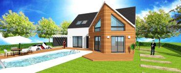 Constructeur Designer de Maison sur mesure Bardage bois red cedar, mélèze, douglas des marques silverwood et autre à pose verticale, horizontale et claire voie
