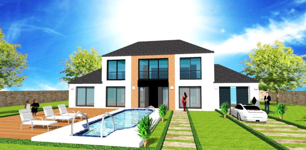 Maison Prestige XL Loft 4 pans Style Atelier d Artiste et Verriere par ArchiDesign