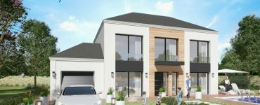 Prestige Loft 4 pans Wood modele loft grandes baies vitrees XL architecture design maison