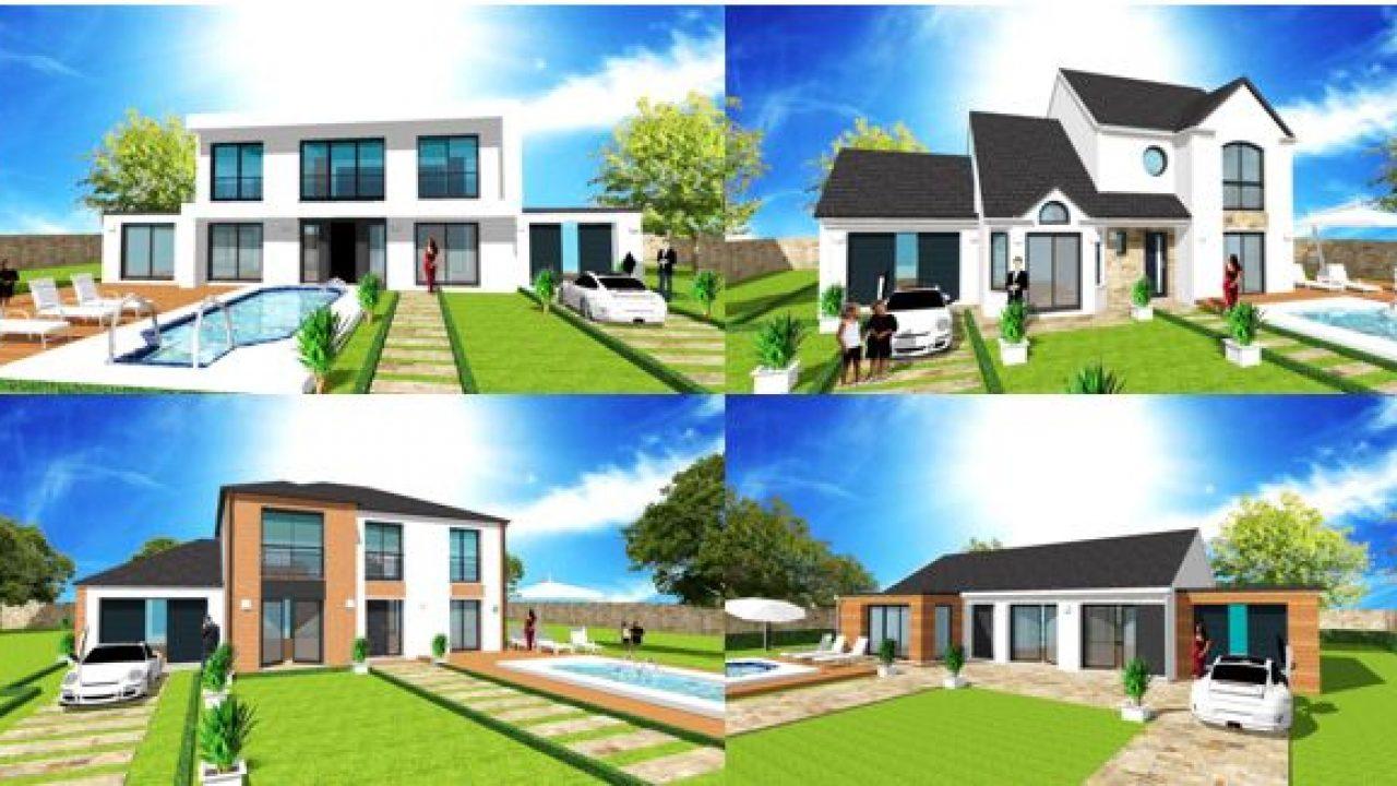 Maison Avec 10m De Facade Plan Modele Et Construction Par Archidesign