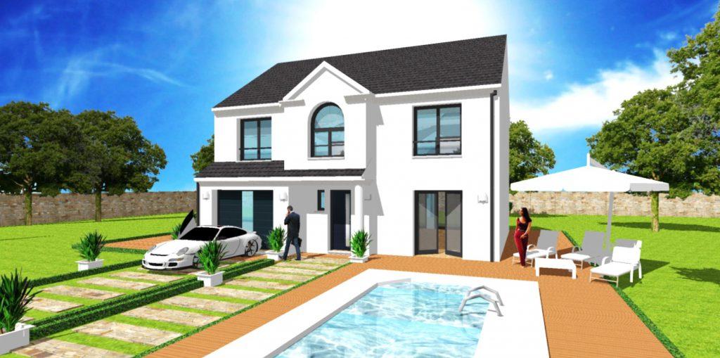 Maison a Etage Constructeur Architecte Design Ile de France Maison Manoir GI
