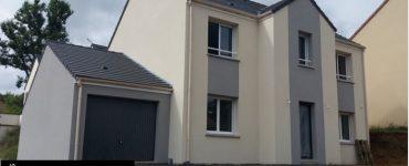 78 La Queue les Yvelines Construction par Constructeur Design Architecte d une maison neuve individuelle sur mesure contemporaine moderne 2 pans