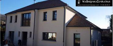 78 Saint Remy les Chevreuse Construction par Constructeur Design Architecte d une maison neuve individuelle sur mesure contemporaine moderne 4 pans