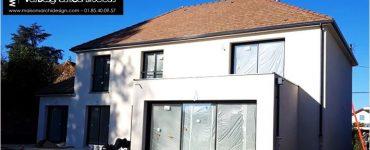 91 Essonne Gif Sur Yvette Construction par Constructeur Design Architecte d une maison neuve individuelle sur mesure contemporaine moderne 4 pans toit terrasse