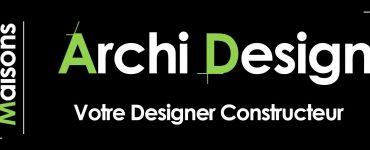Logo Maisons ArchiDesign Constructeur Construction Maison Neuve Sur Mesure en Ile de france yvelines essonne hauts de seine seine et marne Val de marne