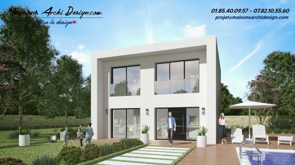 A plan modele toiture terrasse toit plat design