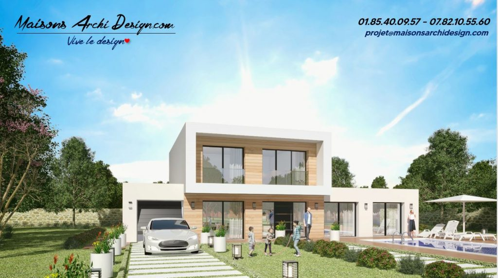 A1 Wood plan modele toiture terrasse