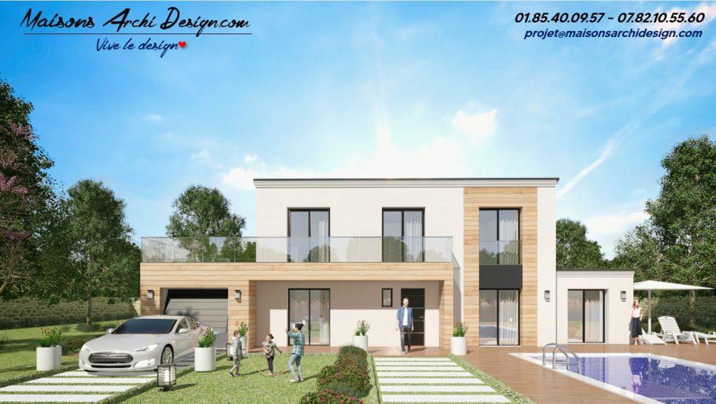 Prestige 3 TT plan modele maison toit terrasse