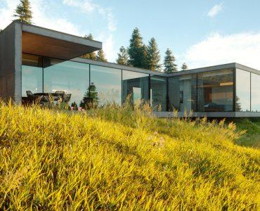 Maison en kit design, ossature bois