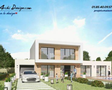 Constructeur maison sur mesure neuve moderne design toit plat toit 3 pans architecte (2)